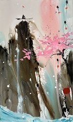Listening I by Danielle O'Connor Akiyama -  sized 18x30 inches. Available from Whitewall Galleries